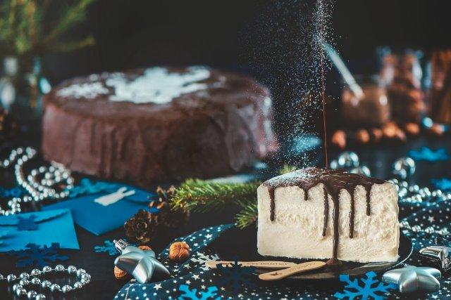 Торт-мороженое от Зайца - приятного аппетита